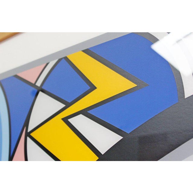 Paper Bedroom Face With Lichtenstein Signed Tom Wesselmann Numbered 5/60 1997 For Sale - Image 7 of 8