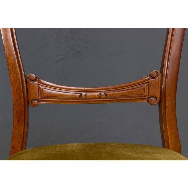 Single Mahogany Side Chair, William IV English - Image 9 of 11