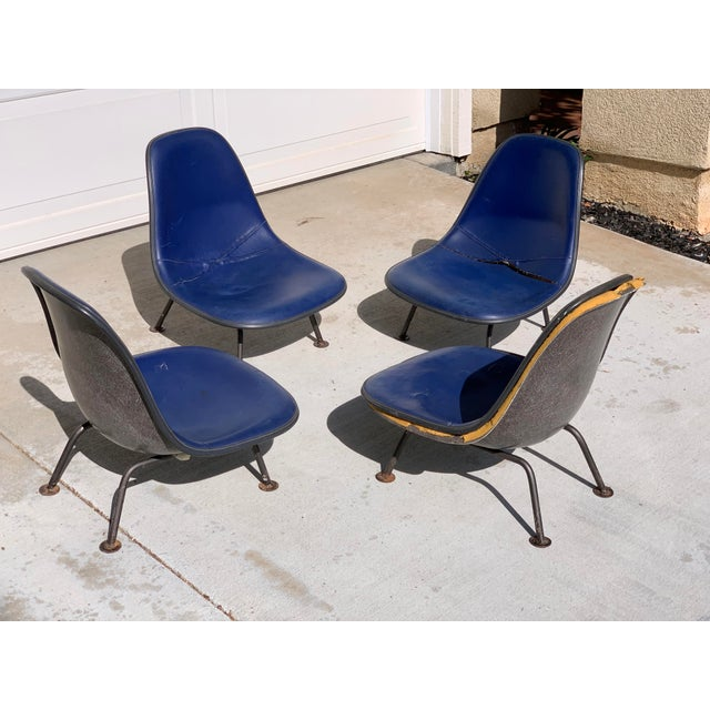 Herman Miller Herman Miller Eames Reconfigured One of a Kind Shell Chairs For Sale - Image 4 of 13