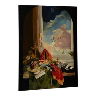 Late 20th Century Surreal Still Life Landscape by Ayers C.1995 For Sale