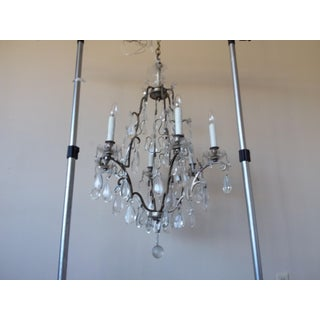 Silvered Bronze French Chandelier Preview