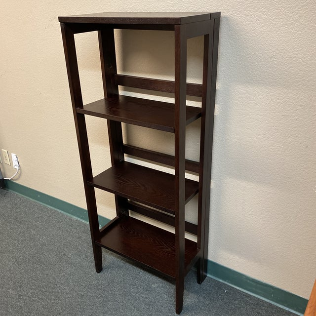 Transitional Folding Bookcase For Sale - Image 3 of 11