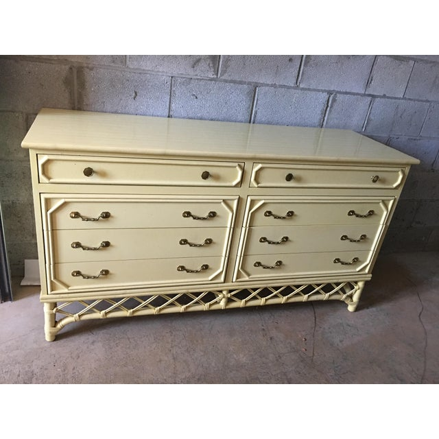 Ficks Reed Hollywood Regency Dresser - Image 2 of 6