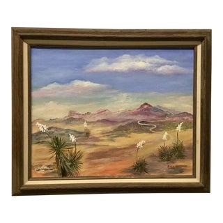 Mid-Century Plein Air Landscape Painting For Sale