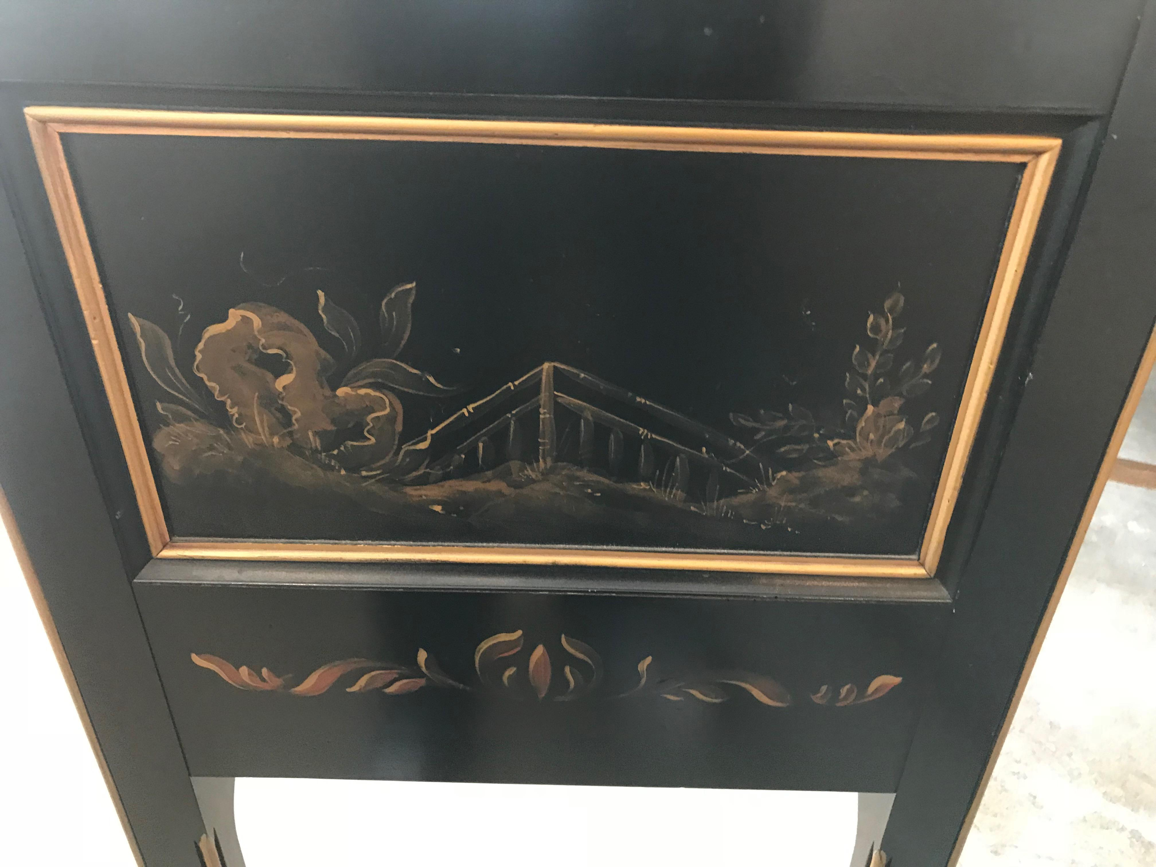 Delicieux Wright Table Company Custom Black Lacquer Asian Console For Sale In Los  Angeles   Image 6