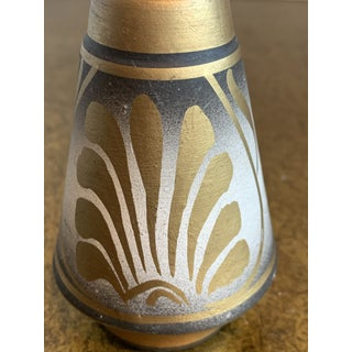 Etruscan Grecian Style Salt and Pepper Shakers - a Pair Preview