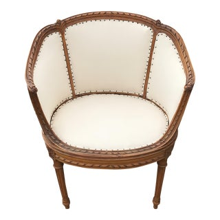 1930s French Side Chair For Sale