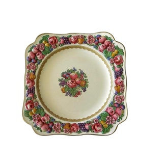 1954 Art Deco Crown Ducal Square Plates - Set of 8