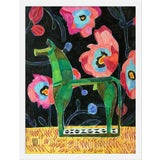 "Image of Medium ""Bronze Horsey"" Print by Jelly Chen, 17"" X 22"" For Sale"