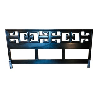 Century Furniture Asian Style King Headboard For Sale