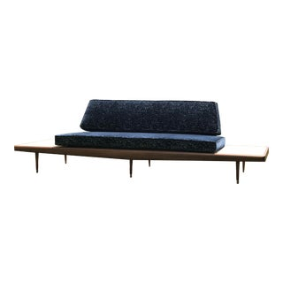Vintage Adrian Pearsall Modern Travertine Floating Sofa For Sale