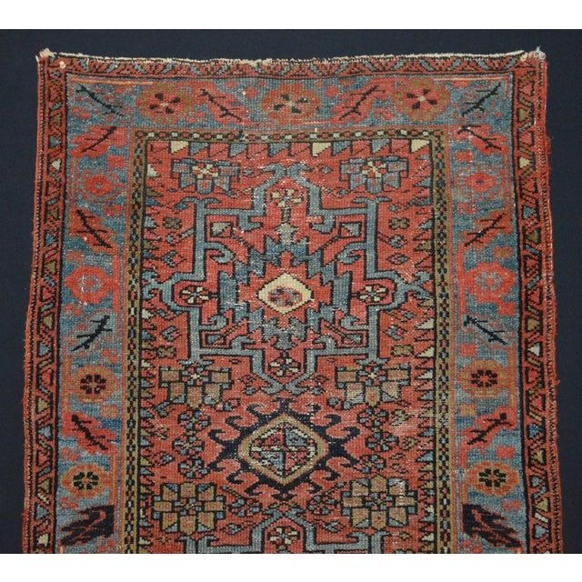 "Antique Persian Karaja Rug - 3'1"" x 4'3"" - Image 2 of 11"
