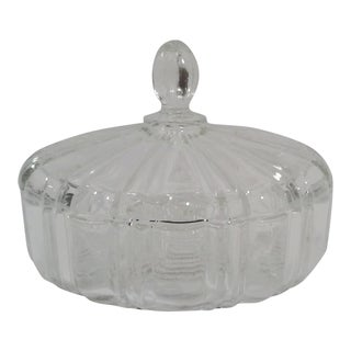 1940's Deco Candy Dish or Trinket Box For Sale