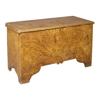 Painted Six-Board Blanket Chest