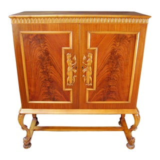 Swedish Neoclassical Cabinet For Sale