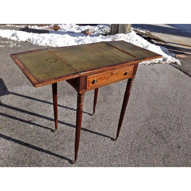 Georgian Early 19th Century George III Mahogany Metamorphic Side Table For Sale - Image 3 of 7