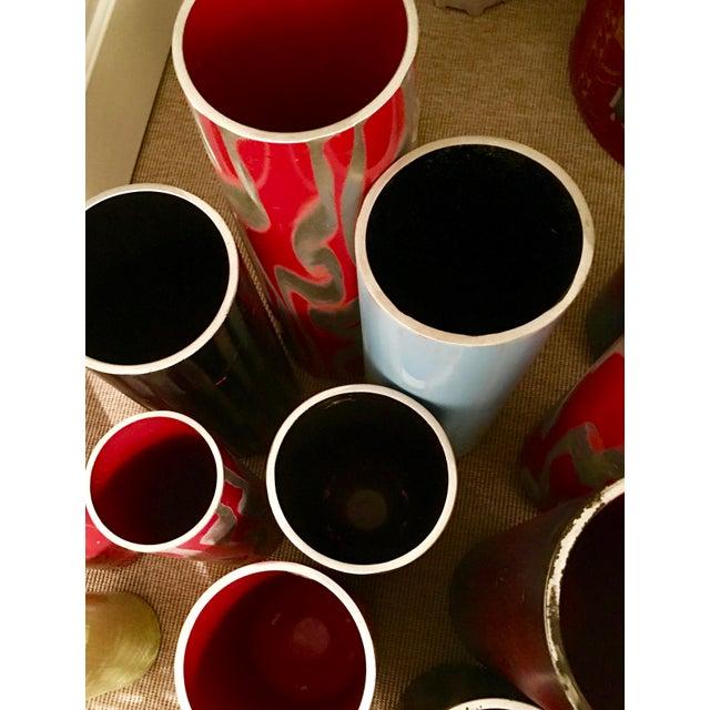 Repurposed Fire Extinguisher Vase - Image 4 of 4