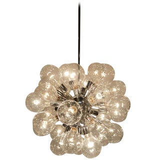 Chrome Bubble Sputnik Chandelier For Sale