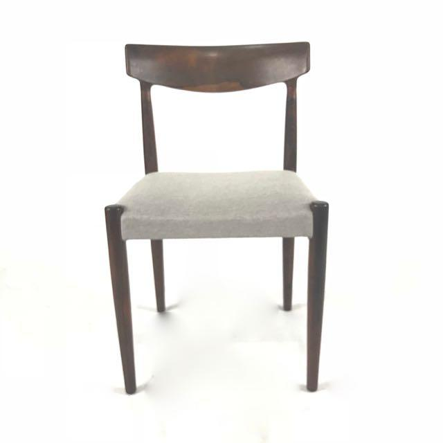 Vintage Knud Faerch Danish Rosewood Chairs - Set of 4 - Image 3 of 6