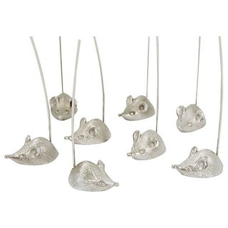 Napier Mice Cheese Servers in Box - Set of 8 For Sale