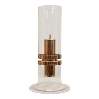 Brass Oil Lamp by Hans Agne Jakobsson For Sale