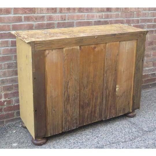 French Antique French Three Drawer Chest For Sale - Image 3 of 6