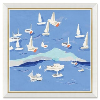 Dana Gibson Island Hopping Number Two, Unframed Print For Sale