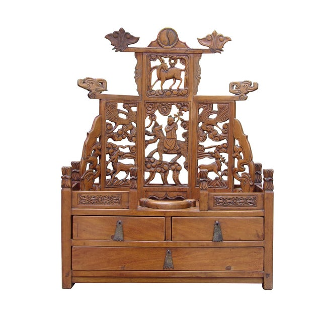 Vintage Chinese Shrine Chest - Image 1 of 7