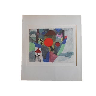 Vintage Paul Klee Mid-Century Abstract Lithograph For Sale