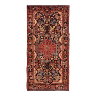 Anaar Semi Antique Persian Nomadic Rug - 4′11″ × 9′10″