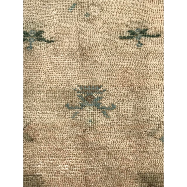"""1970s Hand Made Vintage Turkish Area Rug- 3'3""""x4'2' For Sale - Image 5 of 10"""