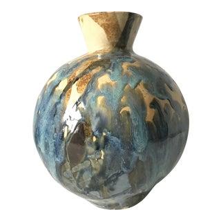 1970's Glazed Art Vase