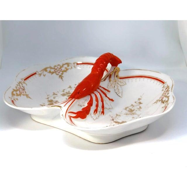 Lobster Faïence Serving Platter For Sale - Image 4 of 12