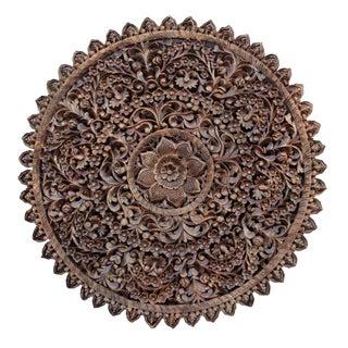 Round Lotus Mandala Panel