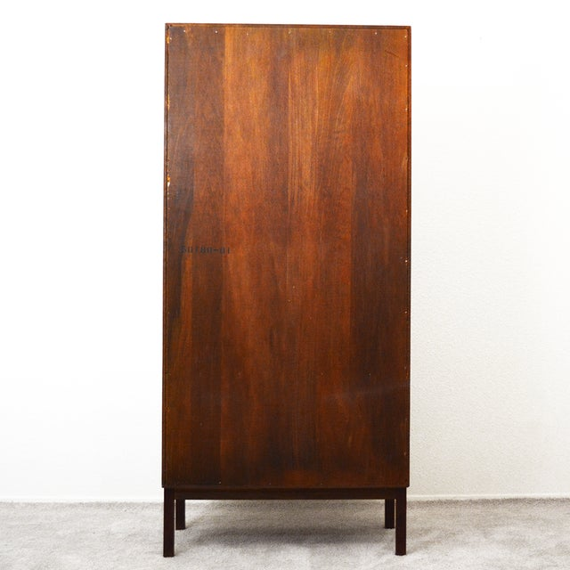 Mid Century Jack Cartwright for Founder's Furniture Walnut Armoire For Sale - Image 9 of 13