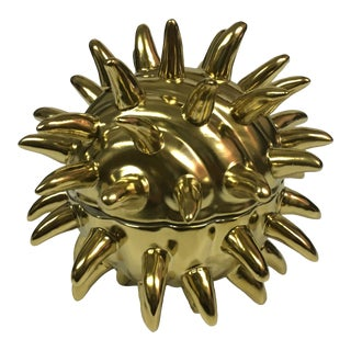 Contemporary Spiky Covered Box For Sale