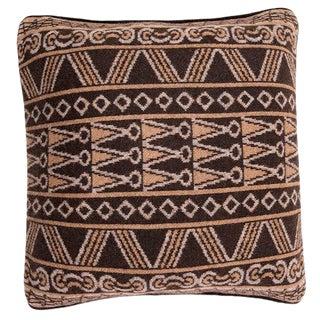 Casa Lopez - Manchu Violet Camel Hair Pillow, 20' X 20' For Sale