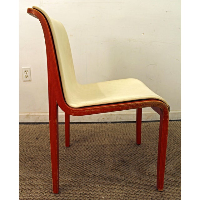 Knoll Knoll Bill Stevens Mid-Century Bentwood Side Chairs - A Pair For Sale - Image 4 of 11