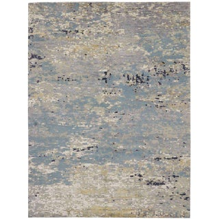 Contmeporary High and Low Texture Rug - 9′ × 12′ For Sale