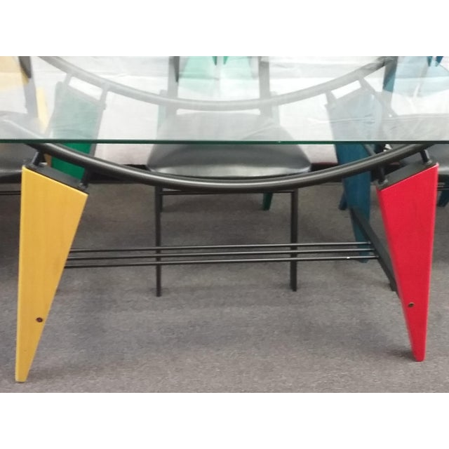 Art Deco Multicolor Dining Set - Image 6 of 6