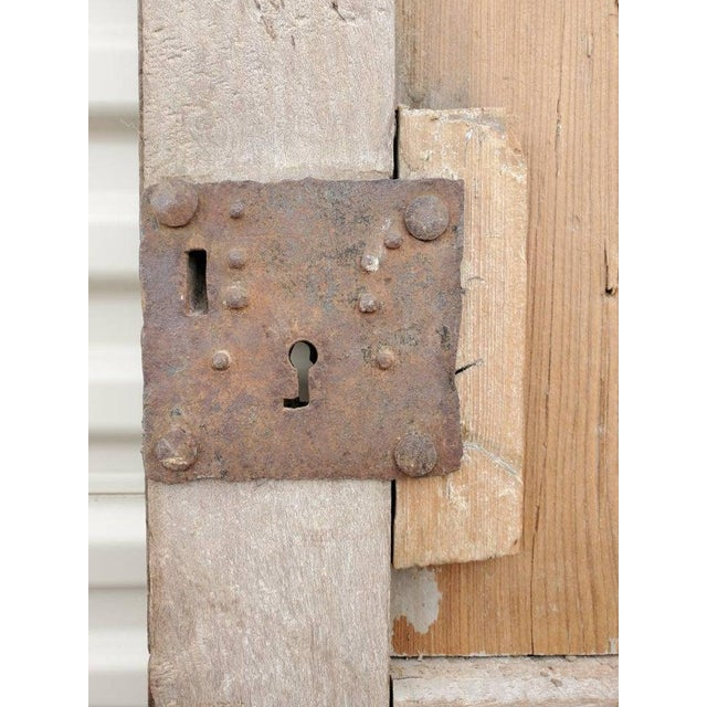 19th Century Rustic 19th Century Mexican Architectural Window - a Pair For Sale - Image 5 of 10