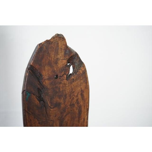 Brown Vintage Olive Wood Easel For Sale - Image 8 of 10