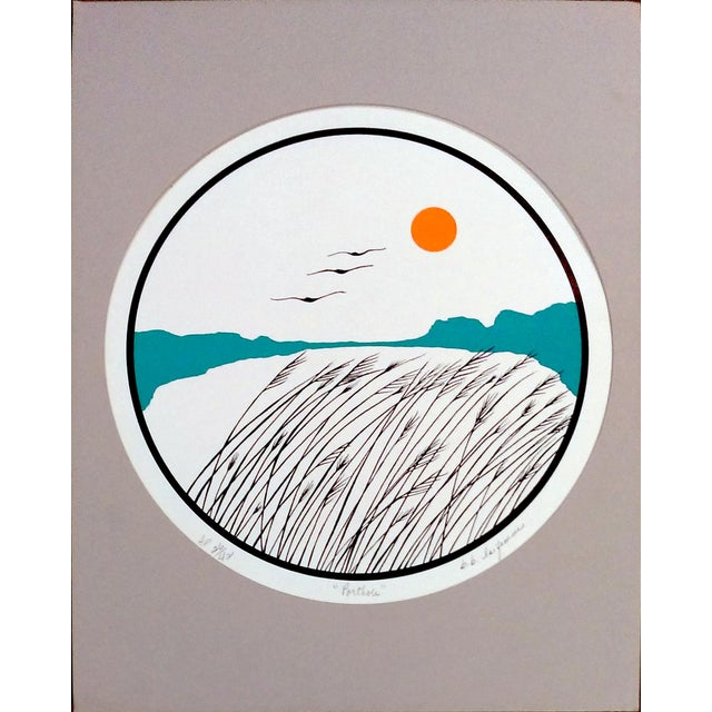 B.B. La Femme Waterbird Artist Proof Serigraphs- S/3 For Sale - Image 4 of 7