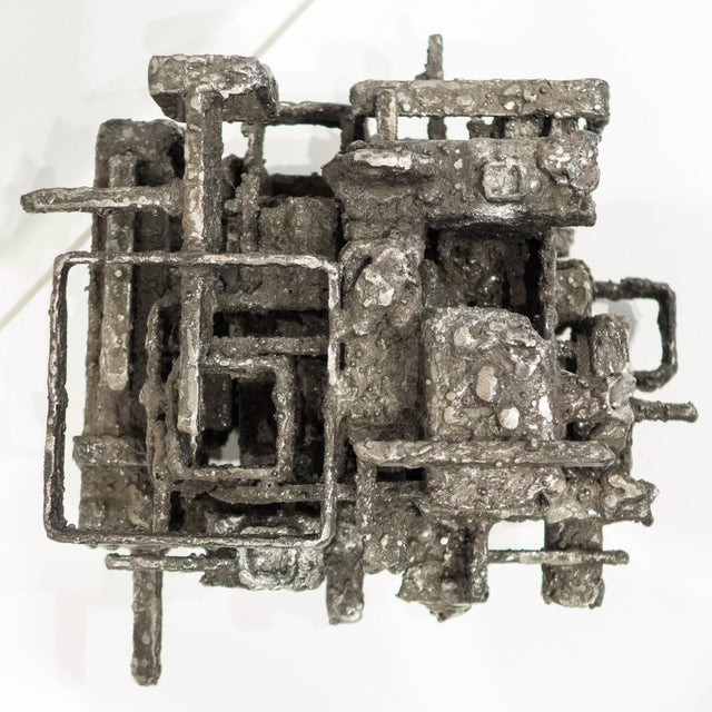 "Black James Bearden ""Dwelling Box"" Sculpture For Sale - Image 8 of 10"