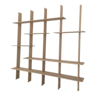 Ozshop 'Angle of Repose' Shelving Unit - Natural For Sale