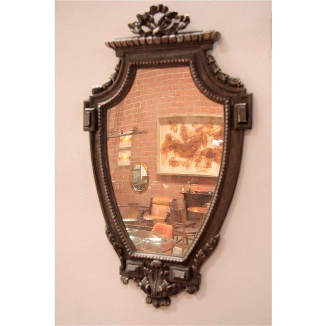 Glass Pair of Italian 19th Century Mirrors For Sale - Image 7 of 10