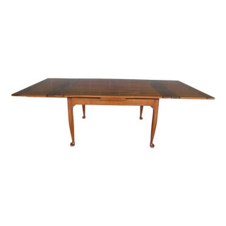 """L & J G Stickley Cherry Valley Dining Extension Table 96""""w For Sale"""