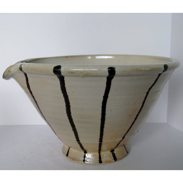 Artisan Pottery Mixing Bowl - Image 2 of 6