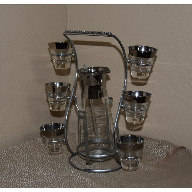 1950s 1950s Dorothy Thorpe Mad Men Style Cocktail Set - 9pc Se For Sale - Image 5 of 8