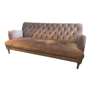 Anthropologie Orianna Amethyst Sofa For Sale